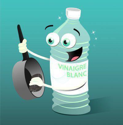Désinfecter la maison avec le vinaigre blanc