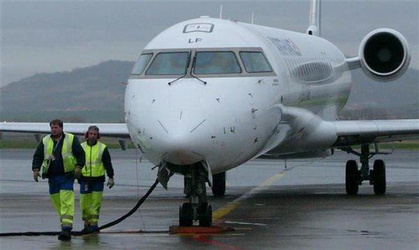 Air France : un Bombardier à Clermont-Ferrand