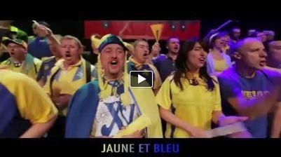 """""""Jaune et Bleu, ensemble"""", les premières notes de la chanson des supporters de l'ASM"""