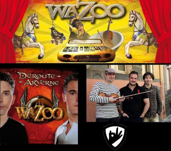 "Wazoo est un groupe de ""folk festif auvergnat"""
