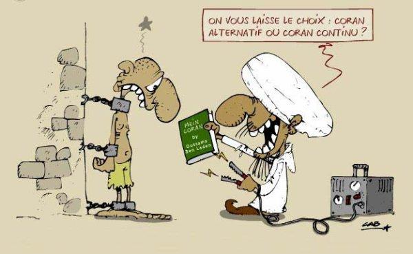 Une petite touche d'humour ! Coran alternatif ou continu ?