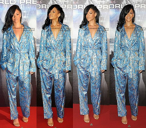 """03/03/12 : Rihanna était présente pour la première de """"Battleship"""" au Japon.                                                                                                                                                                    Rih' fera une tournée en 2013 ! - Le single """"Where have you been"""" sortira aux U.S le 8 mai !"""