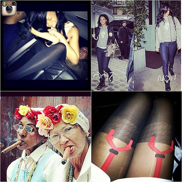 20/04/12 : Rihanna rendait visite à un de ses amis à Bel Air. Elle portait une petite chemise ainsi qu'une paire de basket, une tenue assez simple.Désolé pour la qualité des photos & le tags..