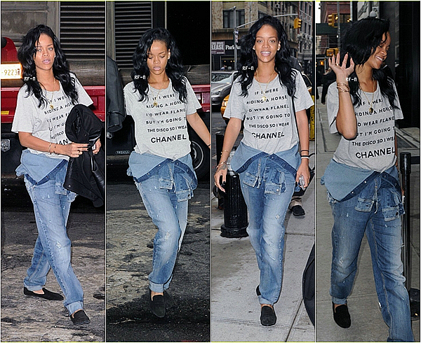 1/05/12 : Rihanna était de retour à NY..
