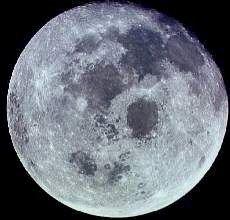 La lune c'est très joli !