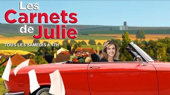 """Découvrir une région, avec Julie Andrieu. """"Les carnets de Julie"""""""