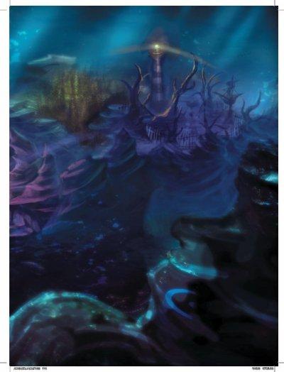 Le monde sous-marin.