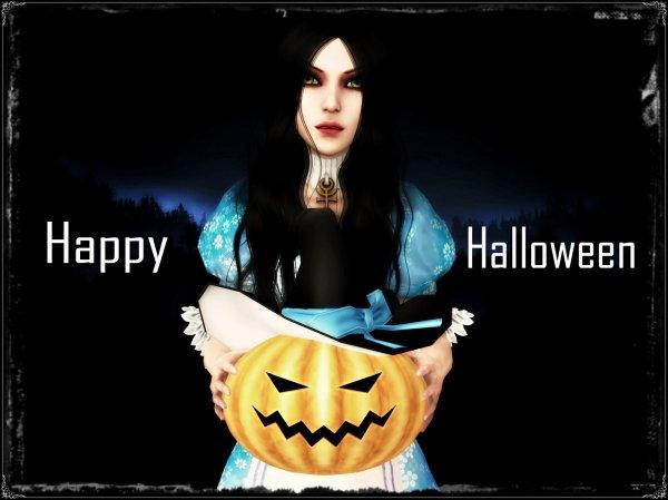 Happy Halloween et bonus ^^
