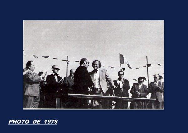 85 JUMELAGE DES DEUX COMMUNES   PENTECOTE 1976 .