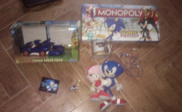ma collection sonic