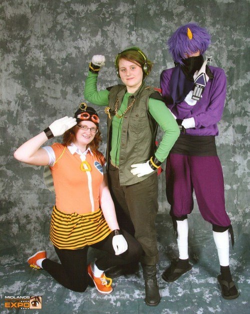 cosplay team chaotix