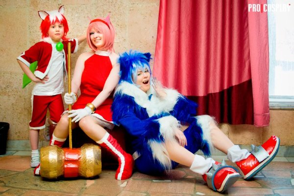 cosplay sonic unleashed <3