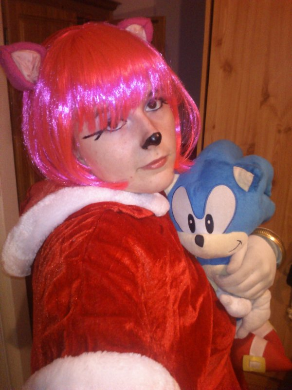 mon cosplay d'Amy<3