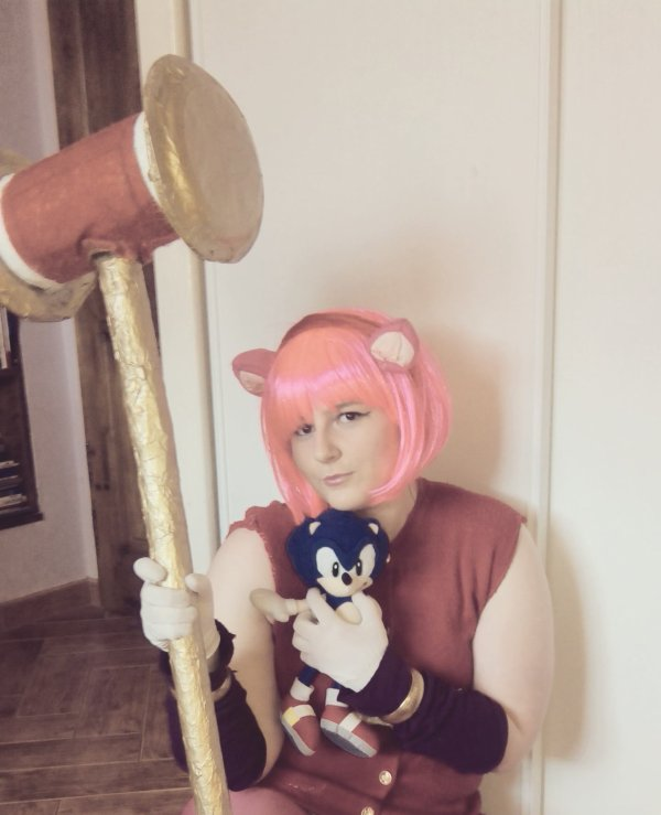 Amy boom cosplay essaie