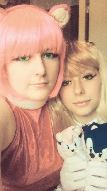 Cosplay de Amy et Cream