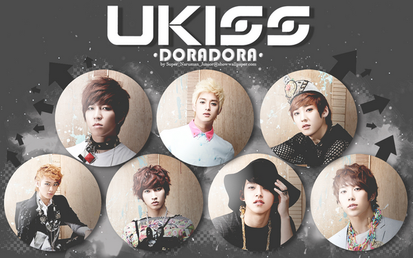U-kiss - Doradora ~ Dora dora dora doraga dora dora dora boji malgo doraga I'm gonna let you go ! Shut shut up and let me go ! Dora dora dora doraga dora dora dora boji malgo doraga I'm gonna let you go ! Shut shut up and let me go !  ♪