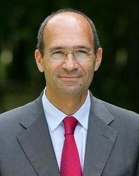 portrait d' eric  woerth ex Ministre du budget, des comptes publics et de la fonction publique :
