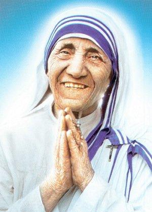 Poème de Mère Teresa.