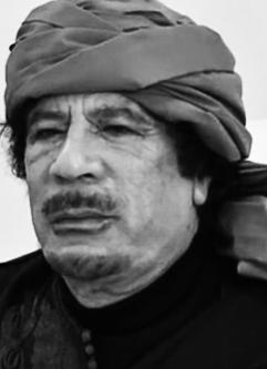 La mort de Mouammar Kadhafi :