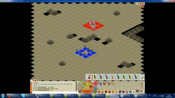 Voici un screen pour  montrer la nouvelle map pvp ^^