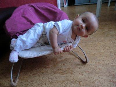 Manelle, 7 mois...