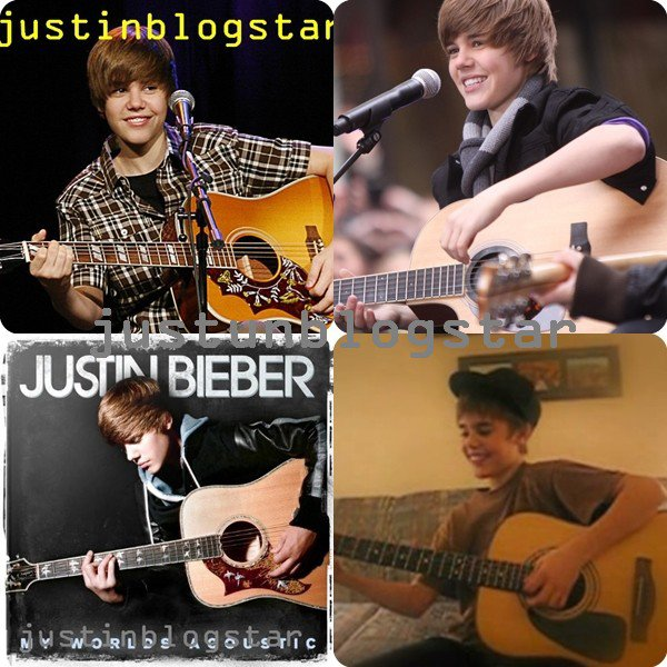justin et sa guitare =D