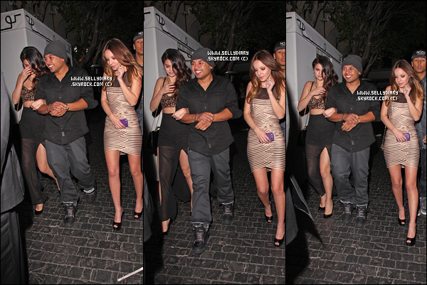 11.02.13 :  Selena a été vue quittant le Chateau Marmont avec Alfredo Flores après avoir assistée à une afterparty.