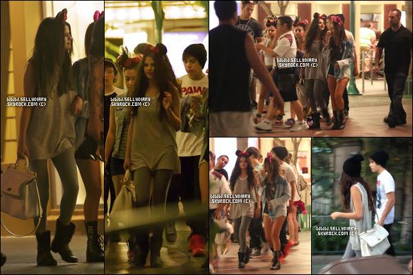 26.06.13 :  Selena a été aperçue en compagnie d'Austin Mahone et le groupe Emblem3 à « DisneyLand ».