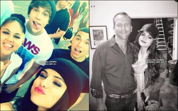 26.06.13 :  Selena a été aperçue entrain de quitter un studio de danse à Ventura, Californie.