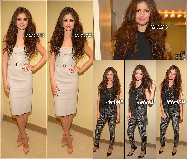 23.07.13 :  Selena s'est rendue à l'émission de télévision « The Tonight Show with Jay Leno » à Los Angeles.