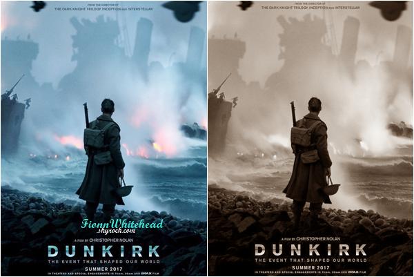 Découvrez l'une des affiche officiel du film Dunkirk ! Alors la j'aime trop cette affiche, elle laisse le mystère planer, bravo Nolan pour ce boulot.