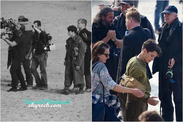 Fionn toujours sur le tournage mais en compagnie de Nolan !