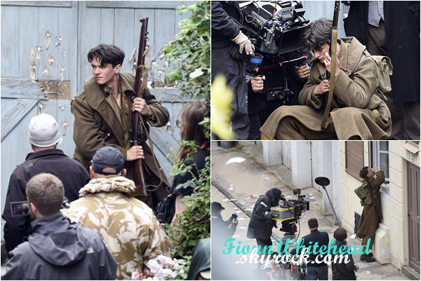 La chaîne de télévision France 3 a diffusé des images de Fionn Whitehead !