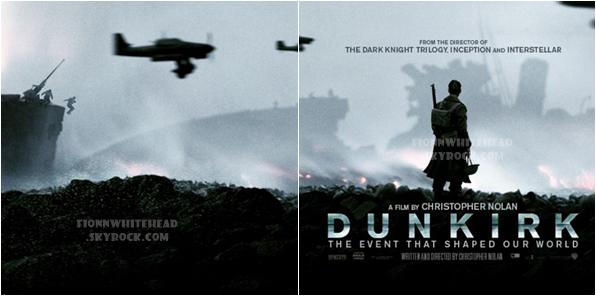 Découvrez le second cliché de l'affiche officiel de Dunkirk !