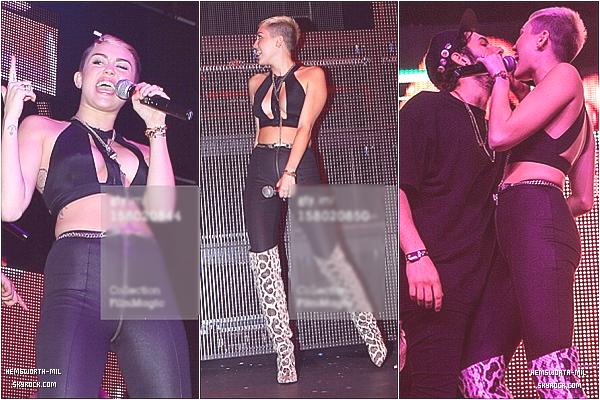 • Candid | 05 Décembre ; Miley s'est rendu dans un centre médical à Beverly Hills. • Candid | 08 Décembre ; Miley a chanté avec Borgore au théâtre la Fonda à los Angeles.