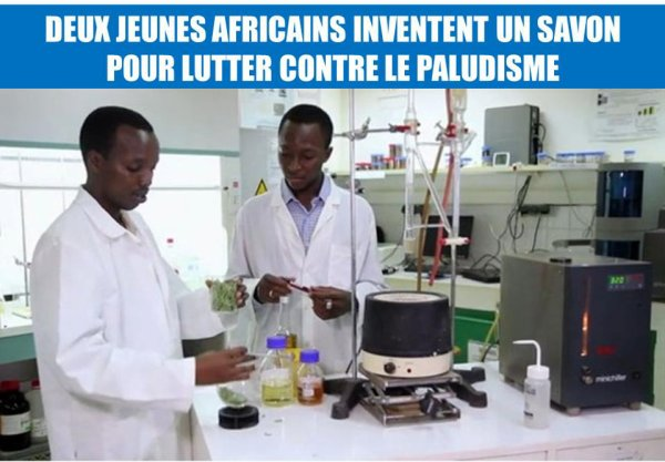 Le paludisme tue un enfant en Afrique chaque minute. Pour lutter contre ce fléau, deux jeunes Africains, Moctar Dembélé et Gérard Niyondiko, ont mis au point un savon anti-moustique. Il serait vendu au prix d'un savon ordinaire (environ 46 centimes d'euros), se démarquant ainsi des produits anti-paludisme, souvent chers et peu abordables pour les habitants des pays touchés par cette maladie. Cliquez sur « J'aime » pour les féliciter pour cette invention potentiellement révolutionnaire