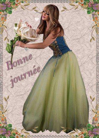 Dans le jardin de mon coeur,   Fleurit une nouvelle fleur,   Chaque jour je viendrai l'arroser,   Car c'est celle de notre amitié,
