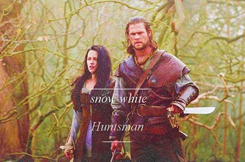 Un film que je vient juste de voir au cinéma : Blanche neige & le Chasseur .