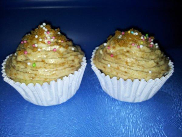 cupcake spéculoos