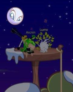 dodo avec lumo dnas ça nouvelle maison trop cool et  son new skin stylé :)