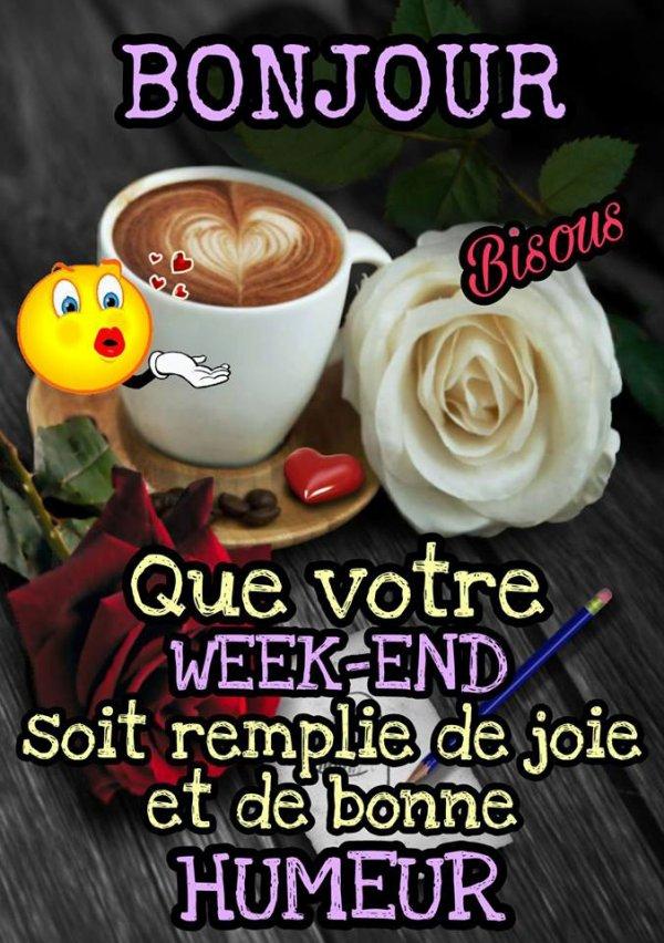 Un très bon week end à tous ! ??