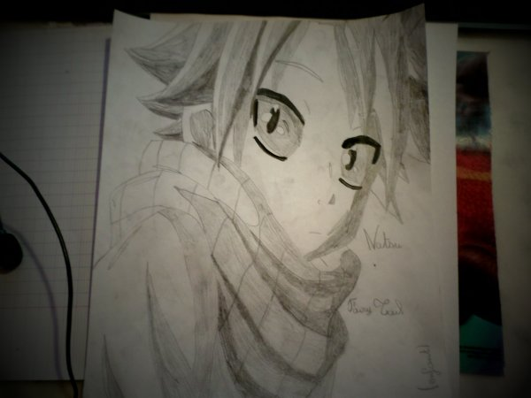 Mes dessins de Fairy Tail