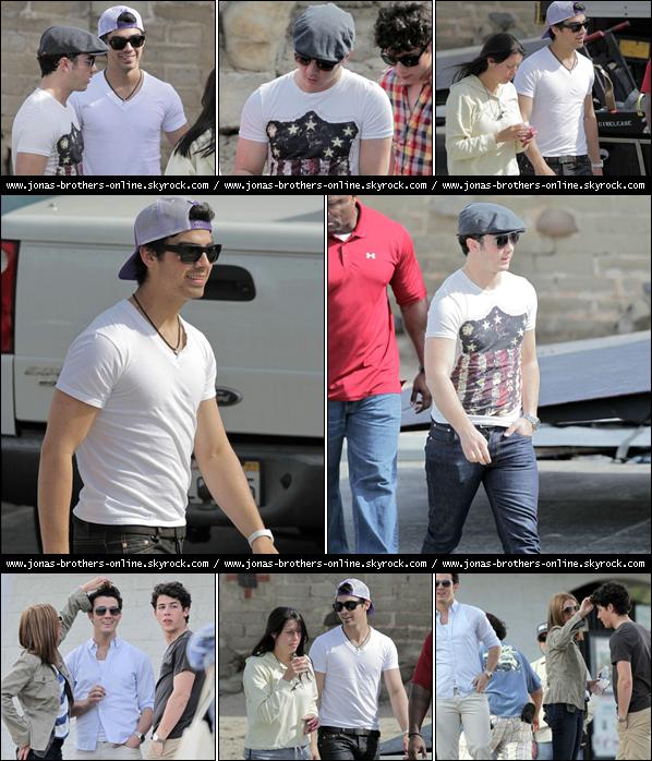 + 01.03.2010 | Photos de Kevin, Joe & Nick en pause : +