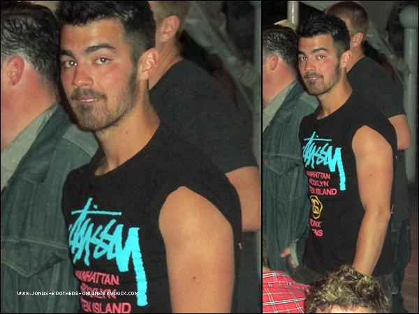 _ 16.04.2011   Joe était de nouveau au festival de musique Coachella avec des amis :