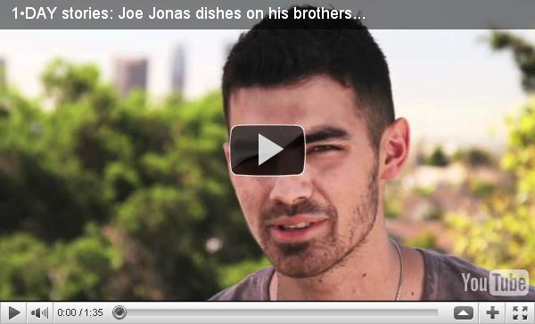 + 24.05.2011   Joe en interview pour Acuvue :