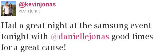 + 07.06.2011 | Kevin & Danielle étaient à la soirée Hope for Children organisée par Samsung (New York) : +