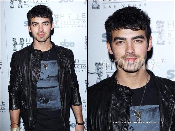 _ 31.12.2011 | Joe a fêté la nouvelle année à la discothèque Hyde_de l'hôtel Bellagio_à Las Vegas :