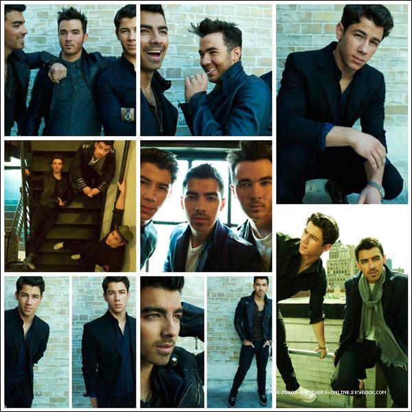 _ 2013 | Nouvelles photos d'un photoshoot des Jonas Brothers par Peggy Sirota :