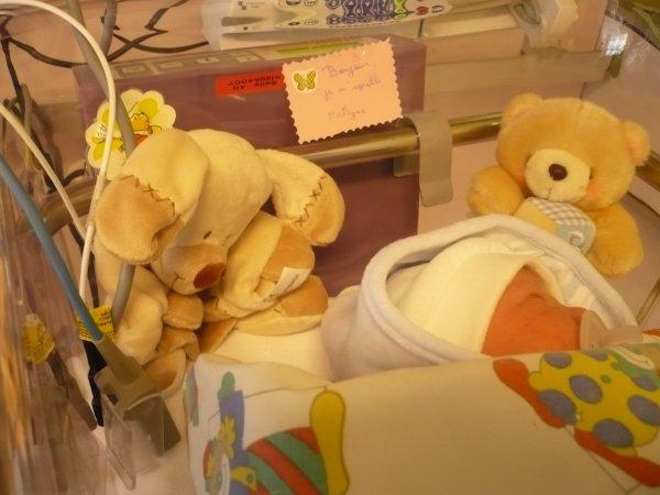 notre petite fille est née le 6 février 2012
