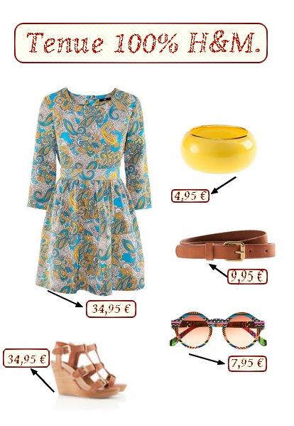 La mode à petit prix.